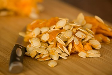 Homemade Pumpkin Seeds