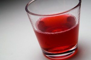 Superfruit Concentrates in Soda Water
