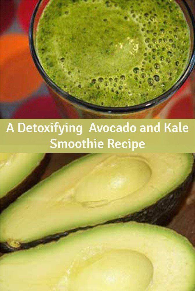 A High Nutrition Avocado and Kale Smoothie Recipe