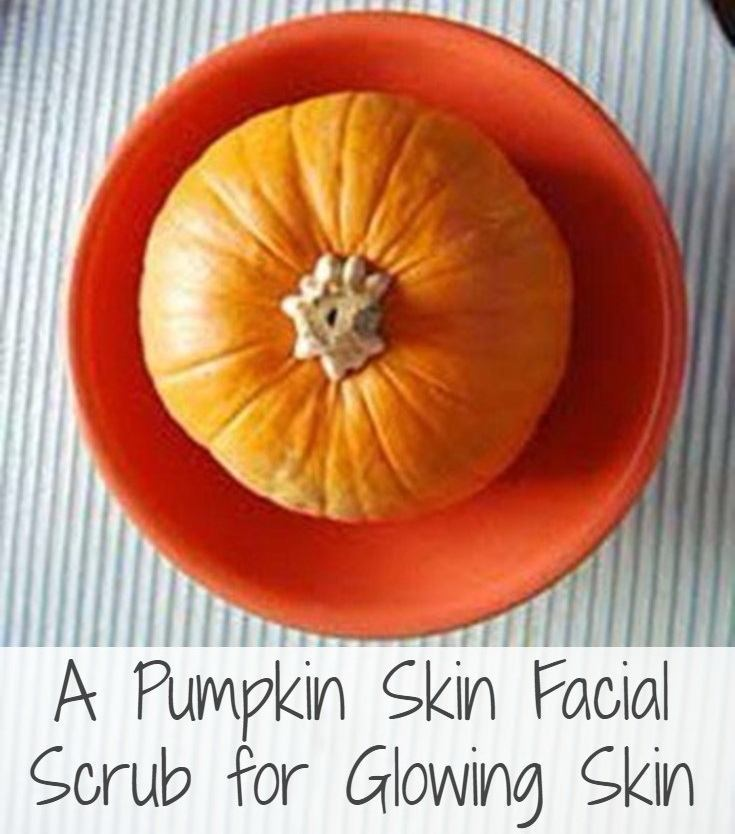 A Pumpkin Facial Scrub for Glowing Skin