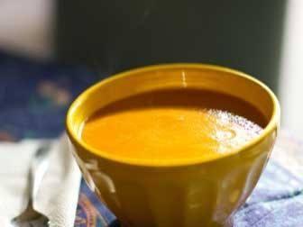 A Super Healthy Butternut Squash Soup