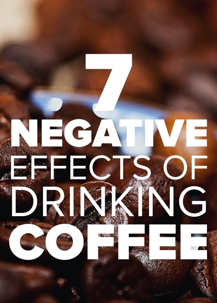 Coffee negative effects