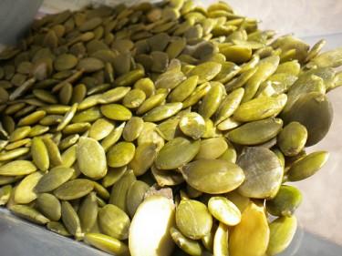 Healthy pumpkin seeds for men