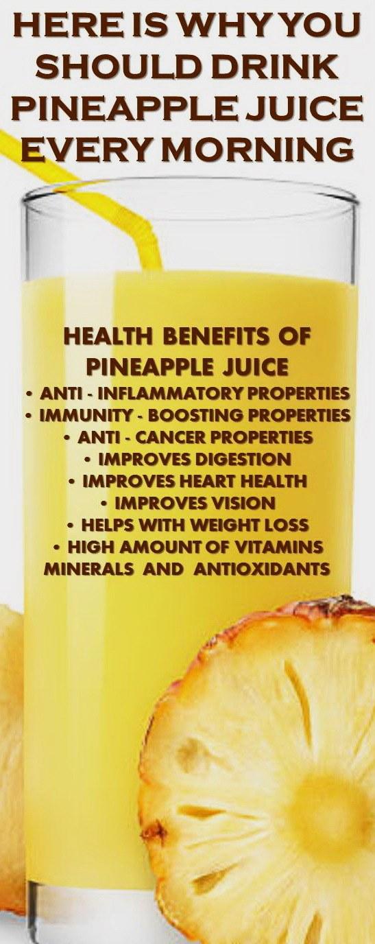 Pineapple Juice benefits