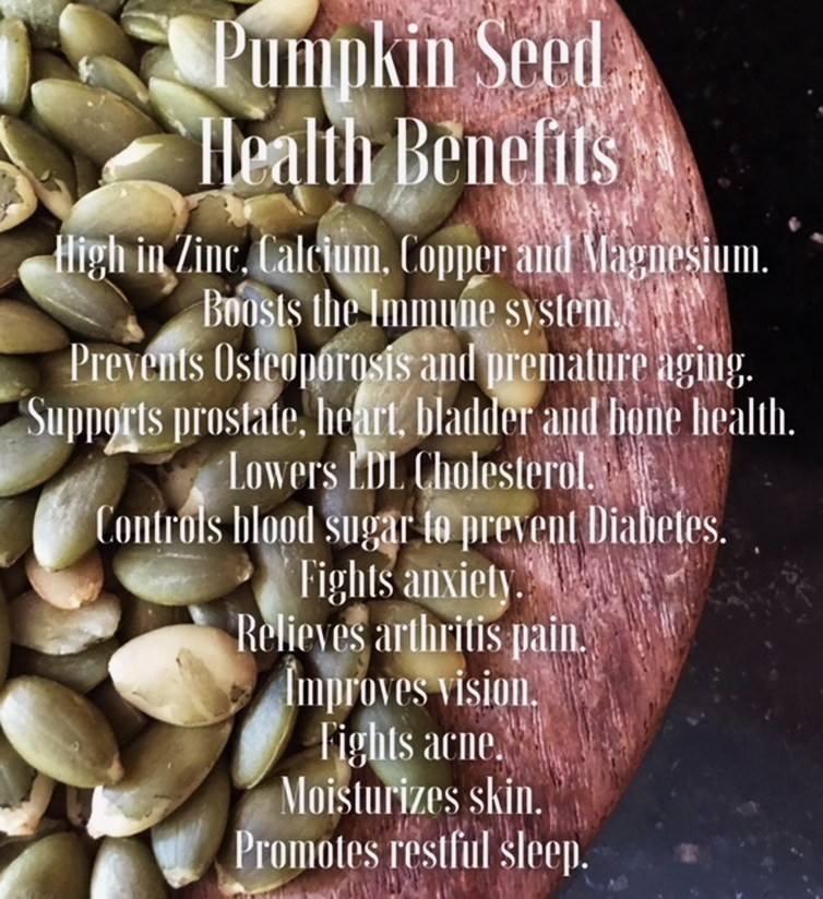 Pumpkin seed health benefits