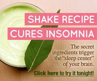 Shakefor insomnia 1