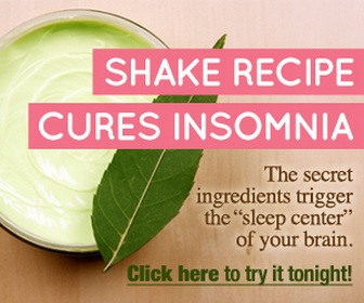 Shake for insomnia